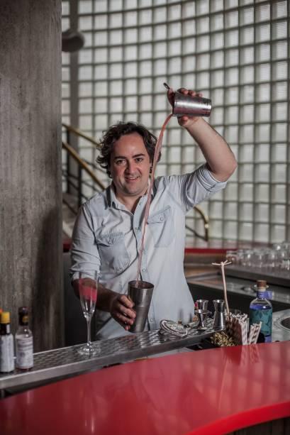 Marco de La Roche: experiente bartender assume o balcão do Riviera