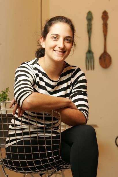 A chef confeiteira Marilia Zylbersztajn