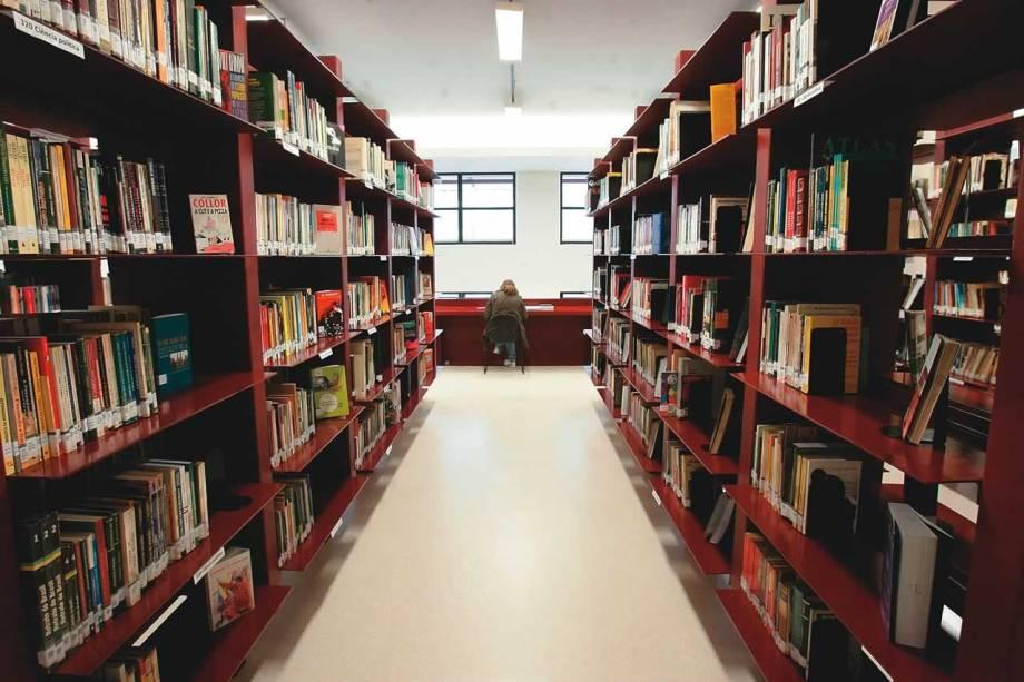 A seção Seção Circulante da Biblioteca Mário de Andrade