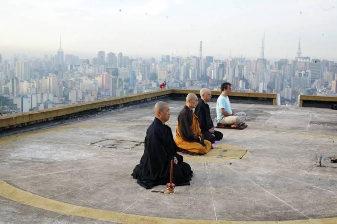 Meditação no Copan