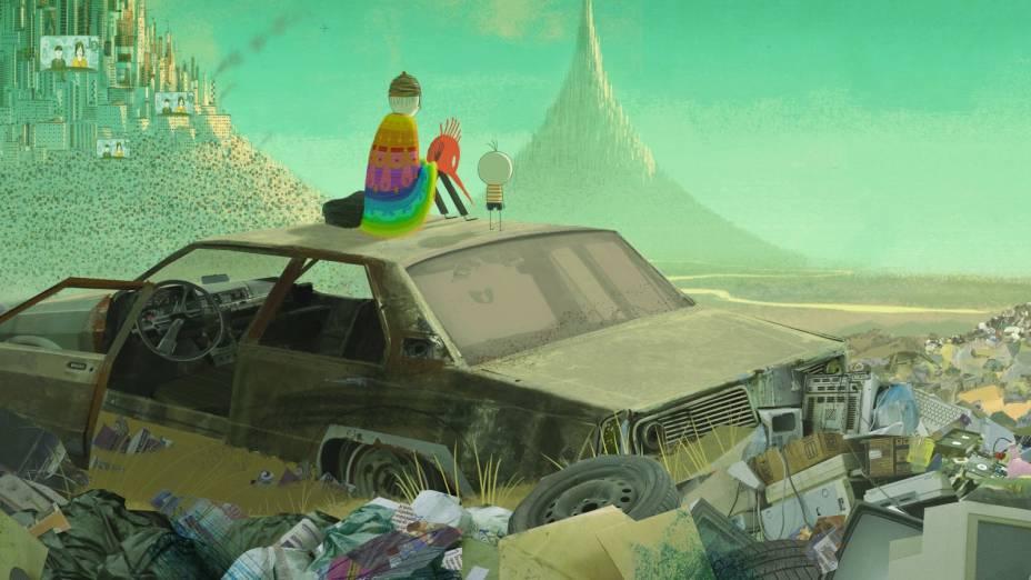 O Menino e o Mundo: animação