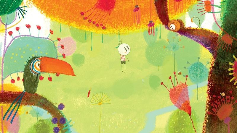 O Menino e o Mundo: a animação: traços simples e uma explosão de cores