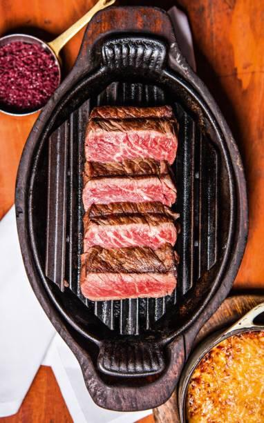 Melhor Carne: carnes servidas vêm de uma fazenda da família do proprietário