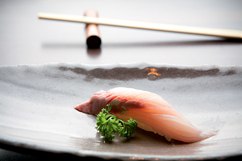 Sushi de olhete