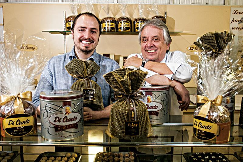 Marco e Reinaldo Di Cunto: empresa familiar