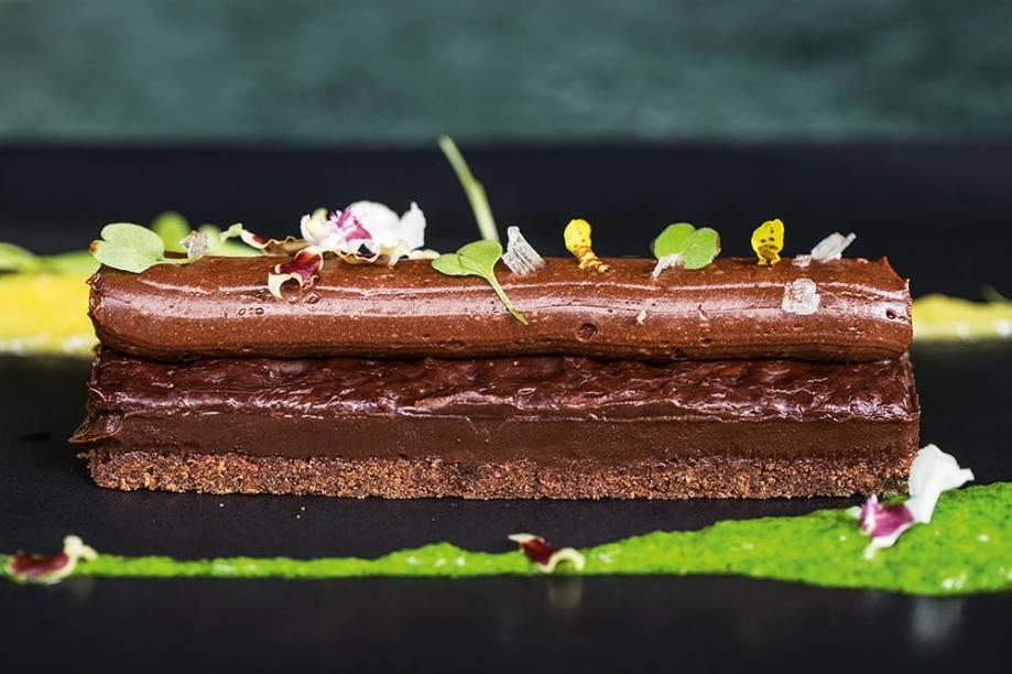 Chocolate em seis texturas