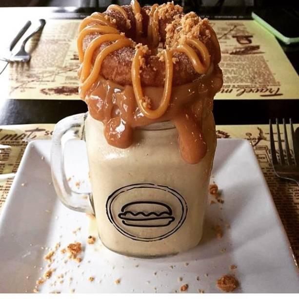 Milk-shake de churro