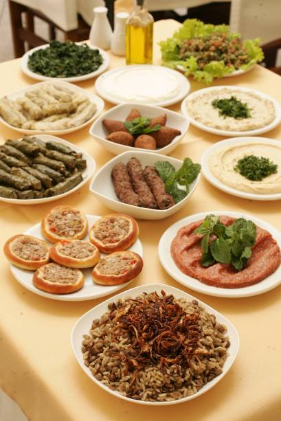 O rodízio campeão: delícias árabes do Monte Líbano