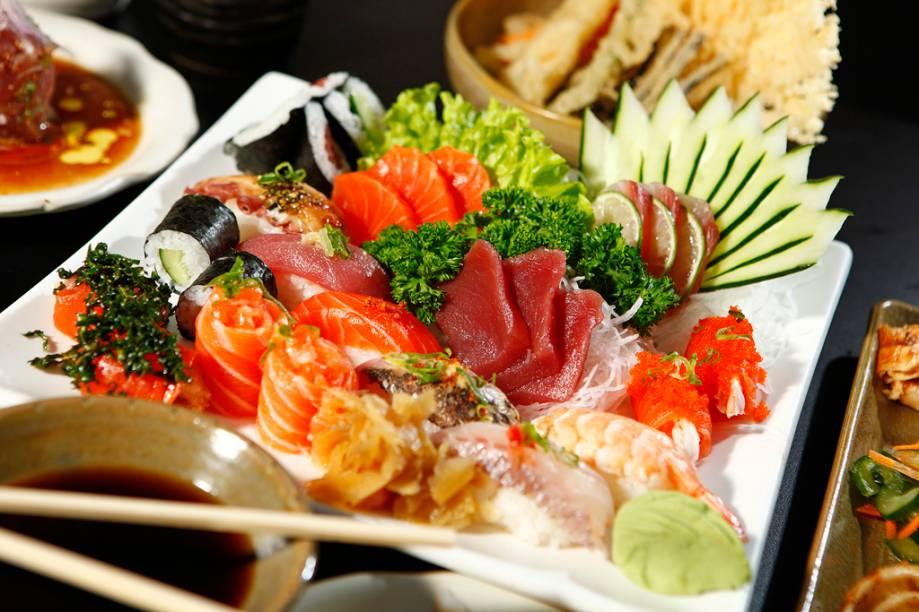 Festival de Sushis e Sashimis