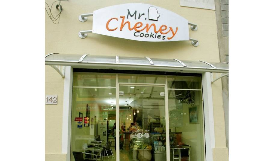 Fachada da Mr. Cheney na Casa Verde