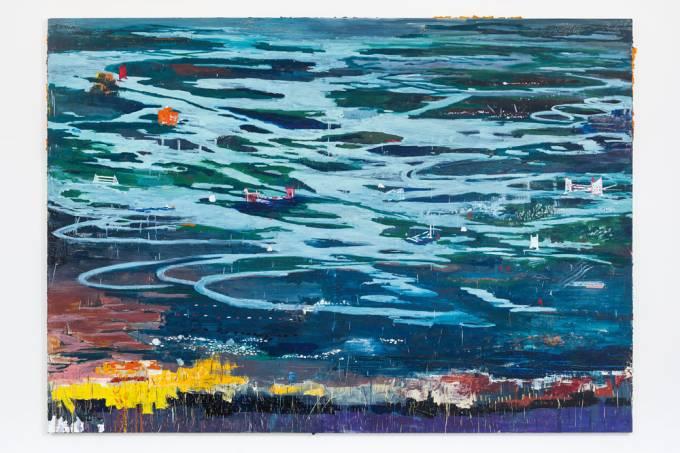 Marina Rheingantz – quadro Terra Liquida