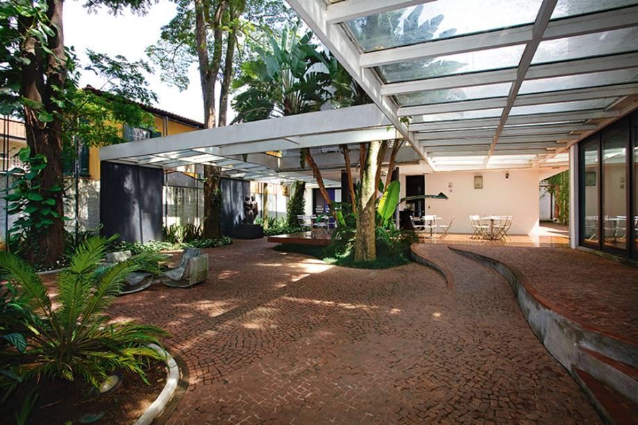 Museu Lasar Segall: jardim