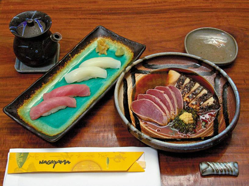 Nagayama: bons sushis em ambiente badalado
