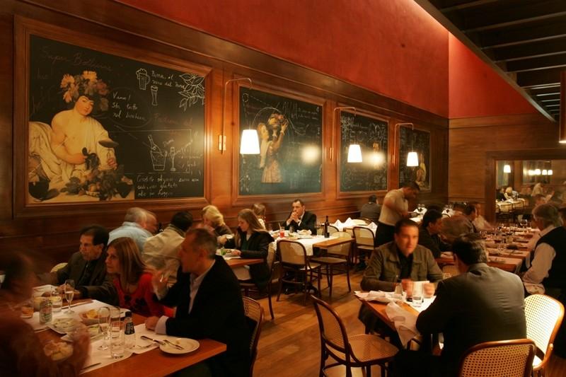 Ambiente do restaurante Nico Pasta & Basta