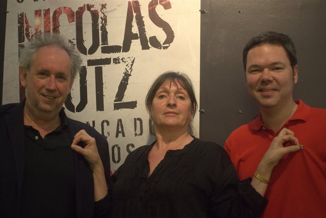 Nicolas Klotz, Elisabeth Perceval e Leonardo Luiz Ferreira