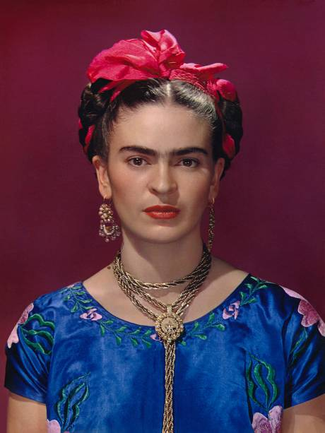 Retrato por do húngaro Nickolas Murray, um dos amantes de Frida