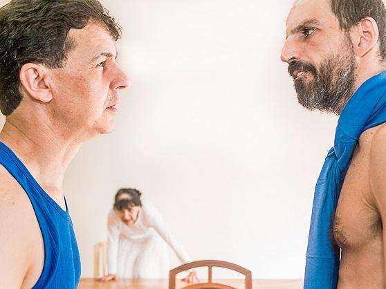 Valdir Rivaben, Maria Eugênia de Domênico e  Eduardo Parisi