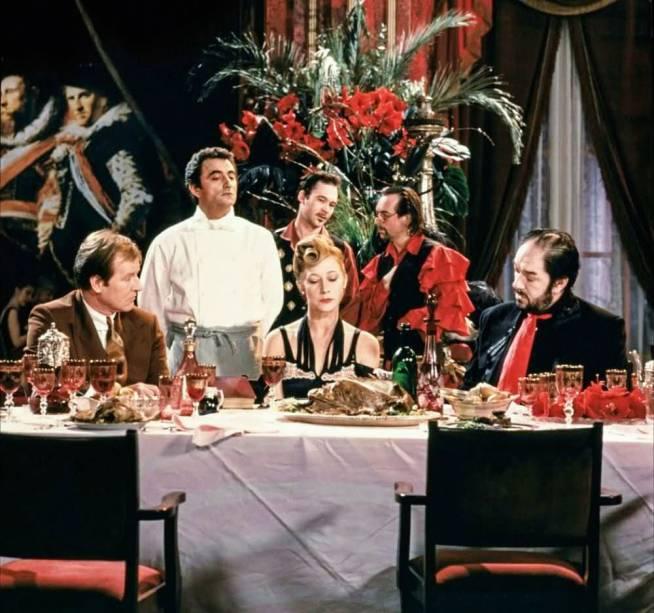 O Cozinheiro, o Ladrão, Sua mulher e o Amante (1989), de Peter Greenaway