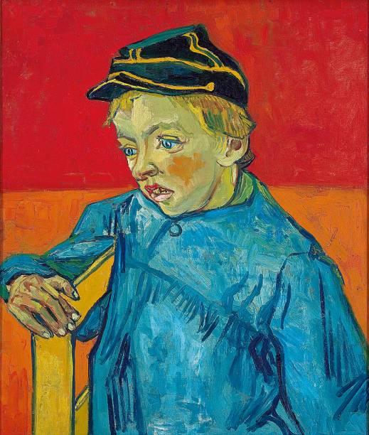 """Quadro """"O Escolar"""", de Van Gogh, é um entre os 8000 pertencentes ao acervo"""