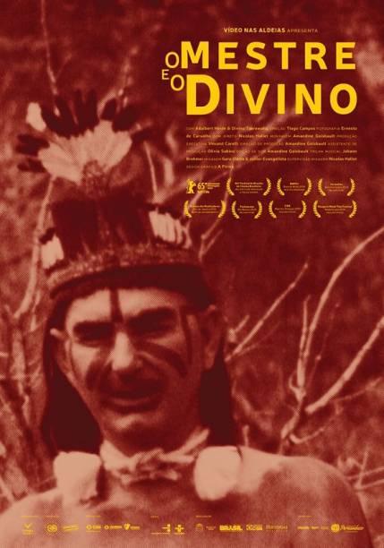 Pôster do documentário O Mestre e o Divino