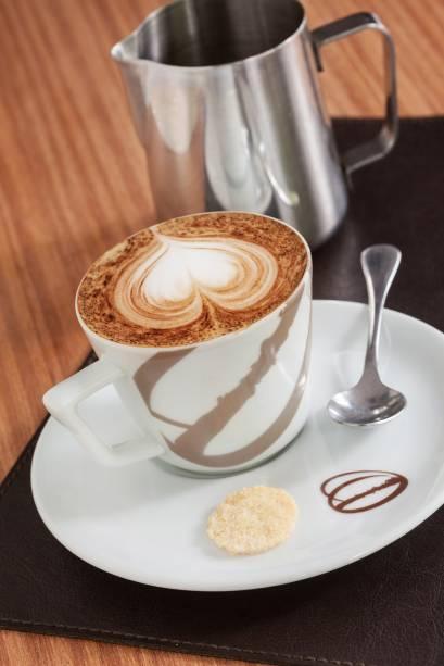 Cappuccino do Octavio Café
