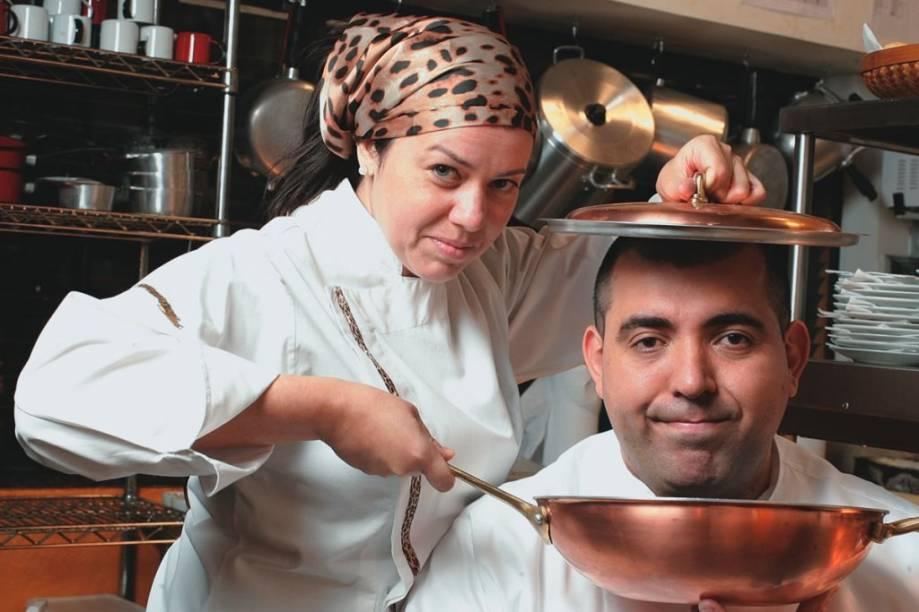 Jefferson e Janaína Rueda: o casal de chefs e proprietários
