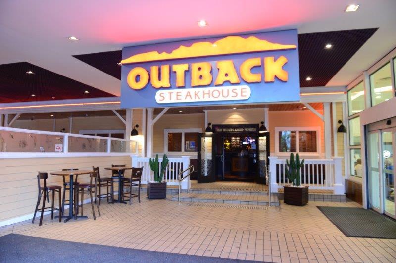 Outback, no Shopping Anália Franco