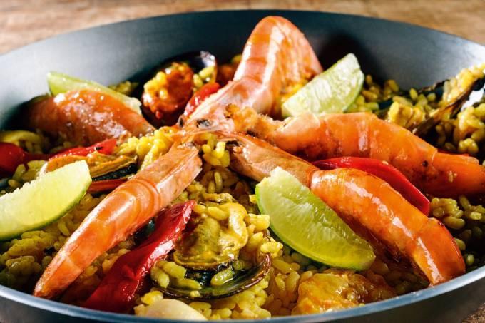 Chiado – Paella de frutos do mar