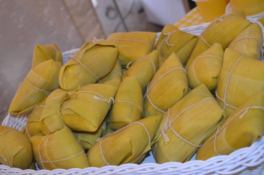 Festa do Milho Verde: pamonhas doces e salgadas
