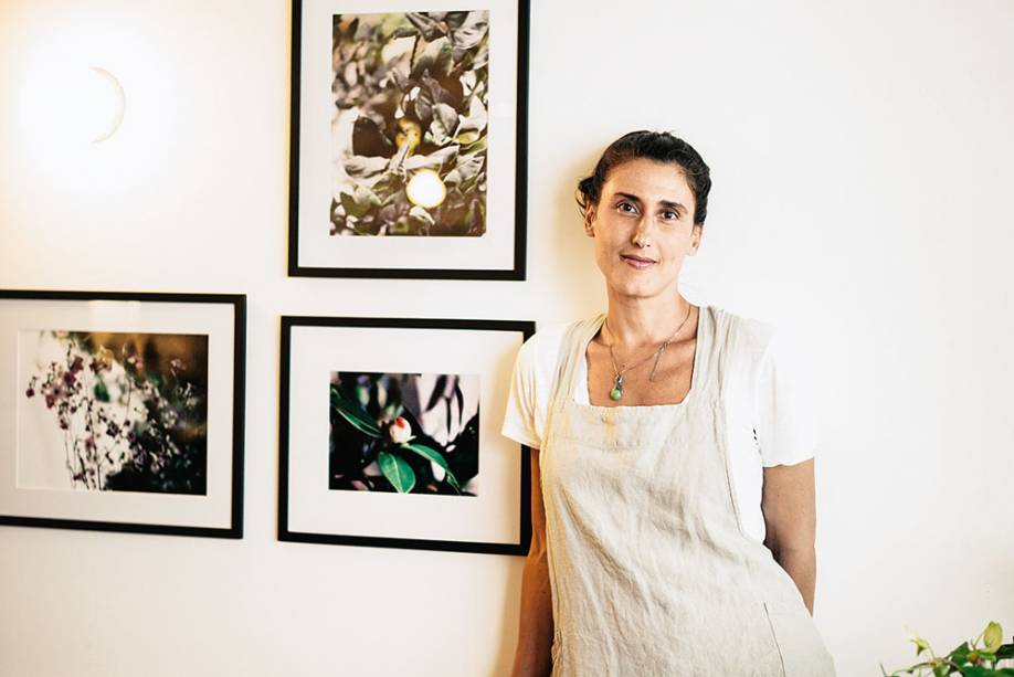 Paola Carosella, do La Guapa: dá aula para crianças e serve a empanada de peito bovino ao malbec (10 reais), recheio exclusivo para a feira