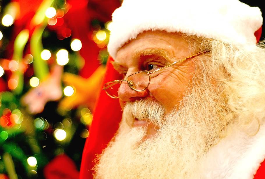 Bom velhinho fica no shopping até o dia 24 de dezembro