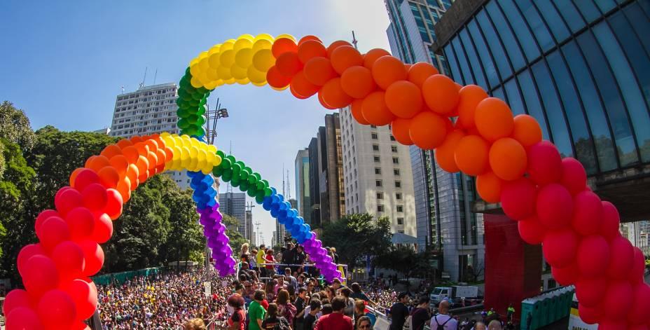 Parada Gay: edição de 2014 ocupou a Avenida Paulista
