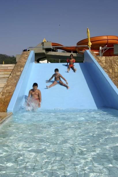 Parque aquático do Sesc Itaquera