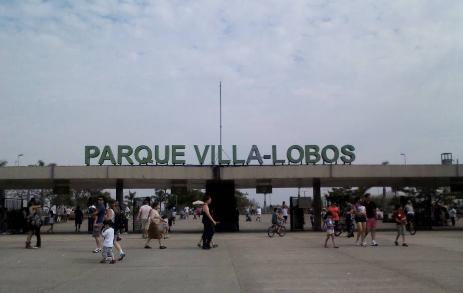 Entrada do Parque Villa-Lobos