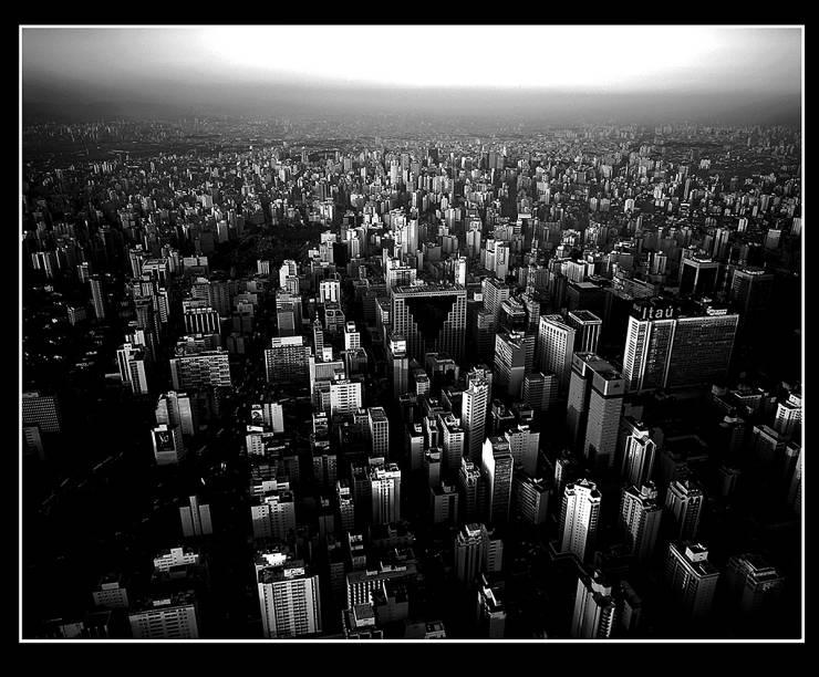 Centro de São Paulo do alto