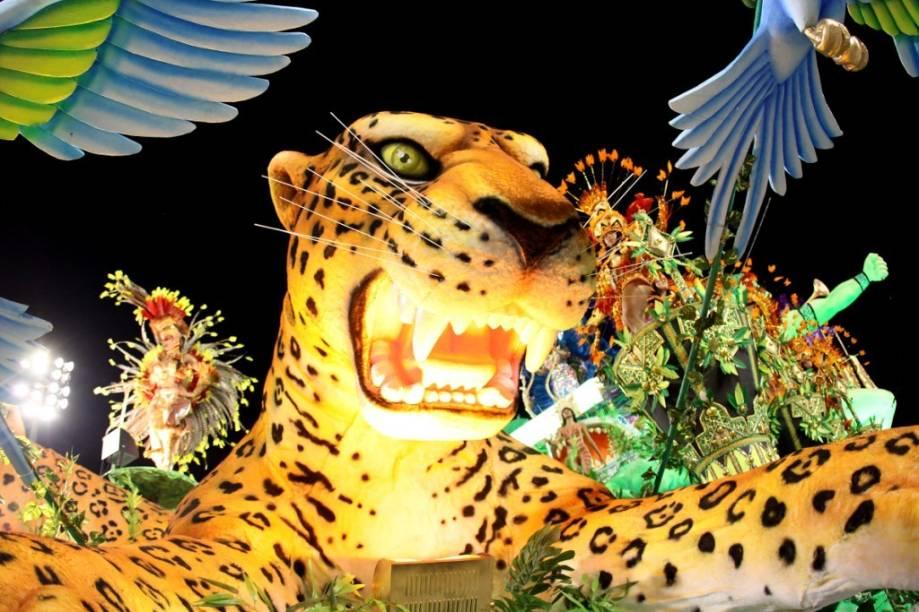 Peruche: escola foi uma das campeãs do grupo de acesso do Carnaval 2010