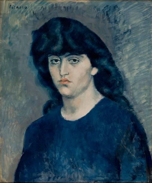 """""""Retrato de Suzanne Bloch"""", de Pablo Picasso, de 1904"""