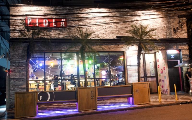 Unidade da pizzaria Piola, localizada na Alameda Lorena