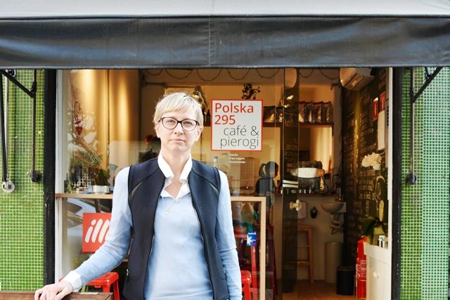 Veronica Bilyk é filha de polonês e comanda a pequena casa em Pinheiros