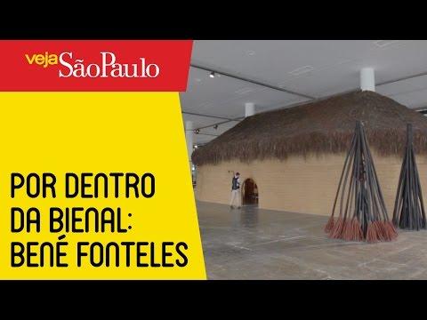Por Dentro da Bienal: entenda a obra em forma de oca indígena