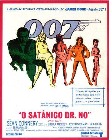 Pôster 007 Contra o Satânico Dr. No