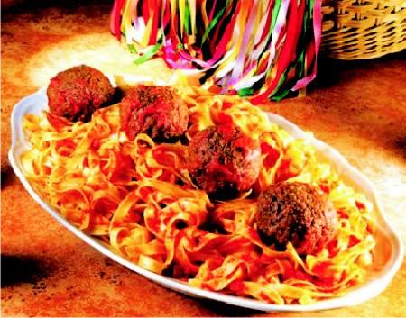 Macarrão a bolonhesa, do restaurante Famiglia Mancini