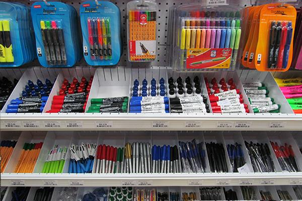 Produtos a granel: diversidade de canetas