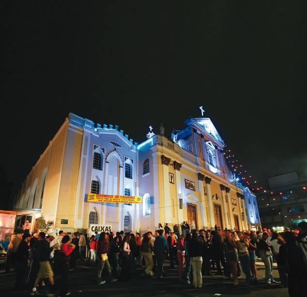 Igreja do Calvário: badalação