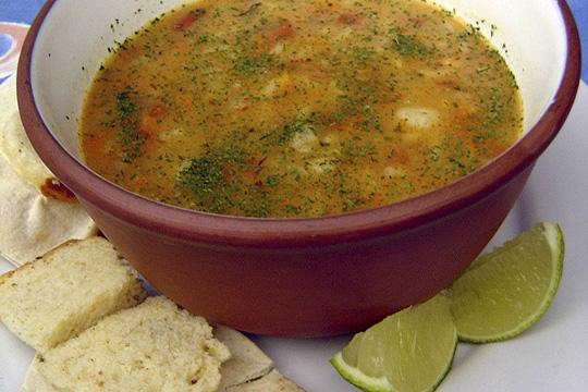 Tanger: tradicional sopa harira