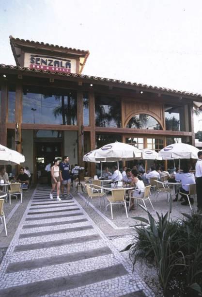 Senzala Bar & Grill, na Praça Panamericana