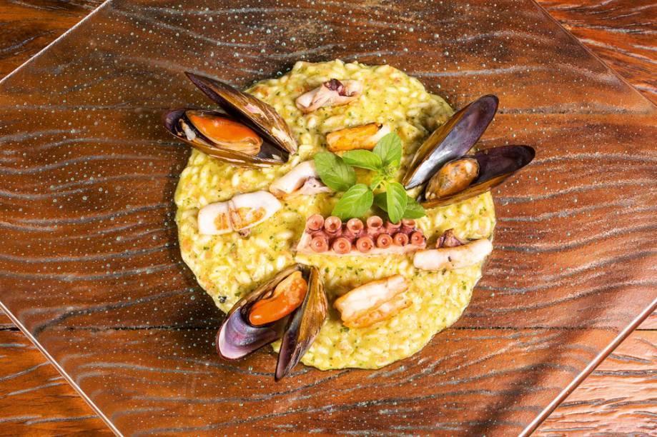 Risoto de frutos do mar: de tempos em tempos, às sextas