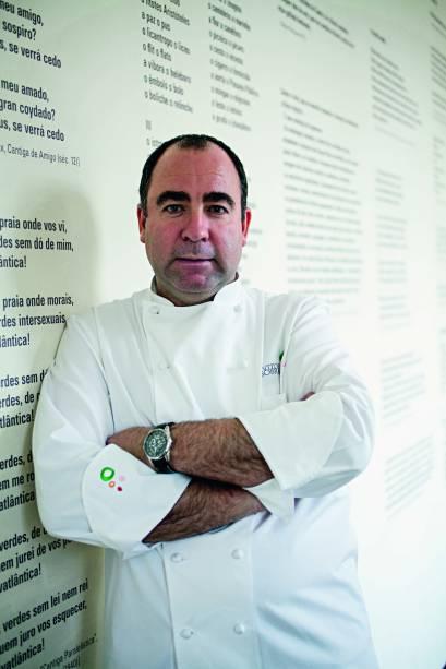 chef português Vítor Sobral