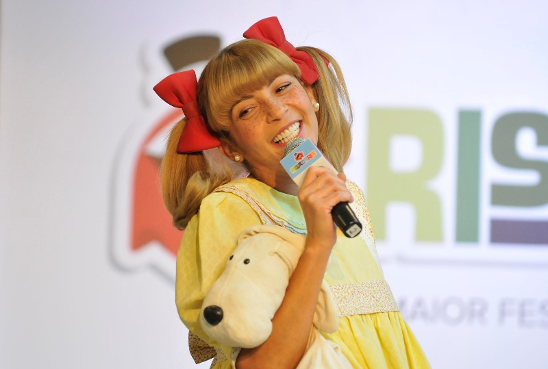 A personagem Nina, interpretada por Marlei Cevada