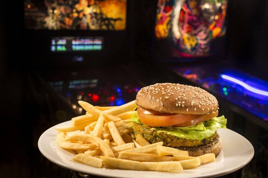 RocknRoll Burger: sanduíche vegano